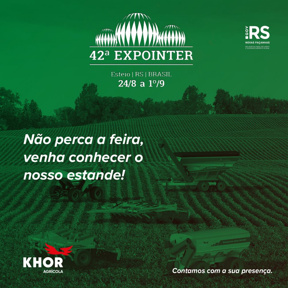 42° EXPOINTER 2019    ESTEIO -RS